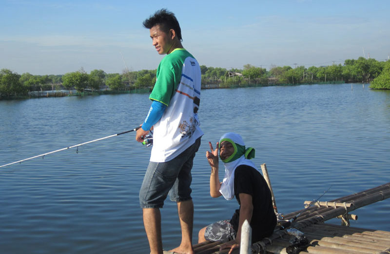 Hinomiya® Fishing Team at Tanjung Pasir